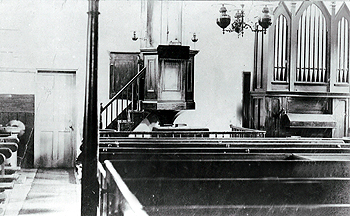 The interior of the Wesleyan chapel [Z50/134/25]